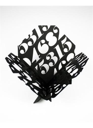 Maxmillen Metal Meyvelik - Rakam Siyah Siyah